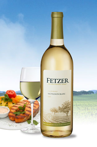 Fetzer Sauvignon Blanc, and A by Acacia