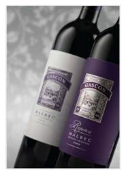 Picture of the Gascon Malbec and the Reserve Malbec