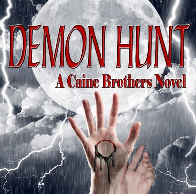 Demon Hunt Cover Reveal – Book 2!