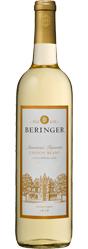 photo of a bottle of beringer wine