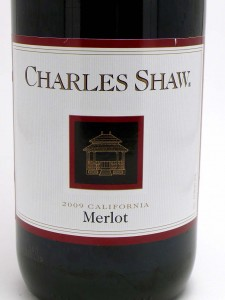 photo of Charles Shaw Merlot