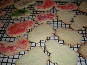 Photo of Christmas Cookies.