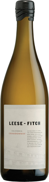A photo of the Leese Fitch Chardonnay