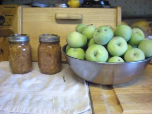 It's a darn good thing we have more apples on the tree...