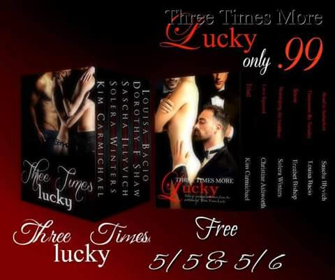 Three Times More Lucky Menage Box Set