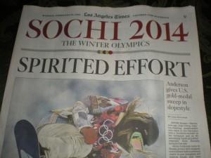 Winter Olympics Fever – Sochi 2014